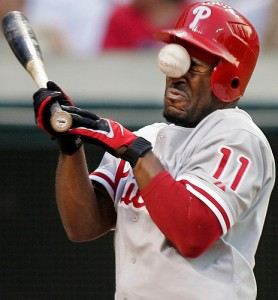 The Phillies sent long time leader Jimmy Rollins packing.