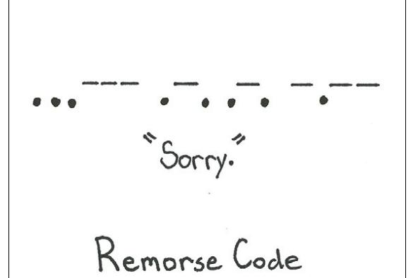 Comic - Remorse Code