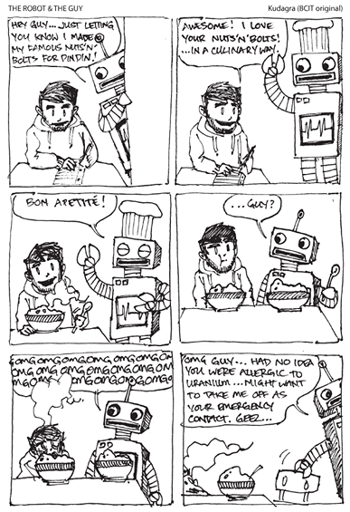 Comic - Robot Guy Chef