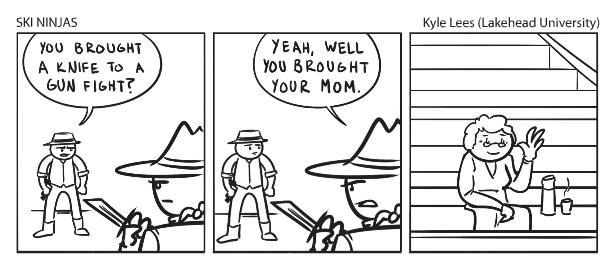 Comic - Ski Ninjas Mom