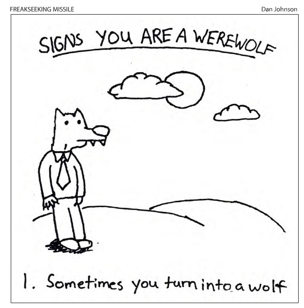 Comic - Werewolf Signs