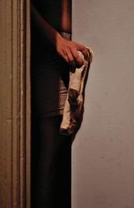 Sock on door