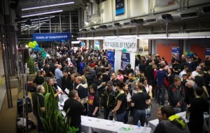 Over 4,500 people visited Burnaby Campus to learn more about BCIT programs