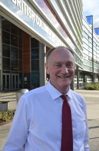 Former BCIT president Don Wright  Photo courtesy of Nigel Haynes