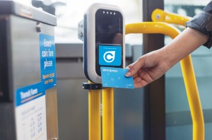 "U-Pass holders will be switching to the Compass Card to ""tap on"" and ""tap off"" transit Photo courtesy of Translink"