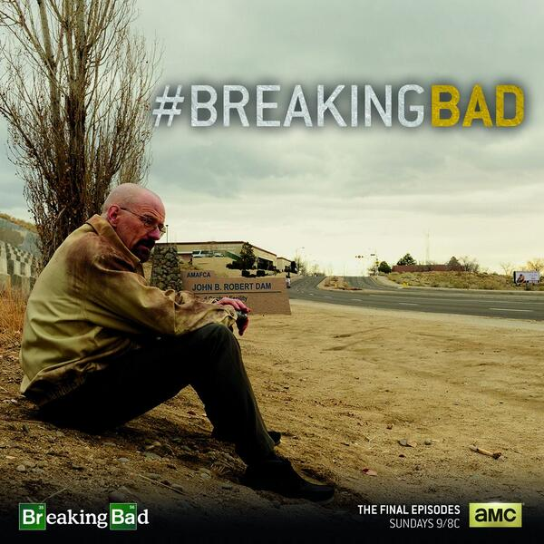 One of TV's biggest shows has its last season, but there is plenty of TV to keep up with! Photo courtesy of @BreakingBad_AMC