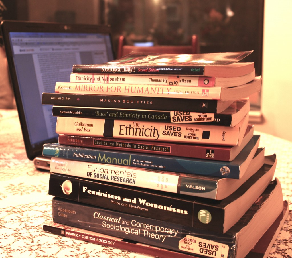 Online books could save students money. Photo by Cory Correia.