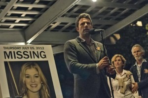 In Gone Girl, Ben Affleck plays Nick Dunne, a man who falls under suspicion when his wife goes missing on their fifth wedding anniversary.