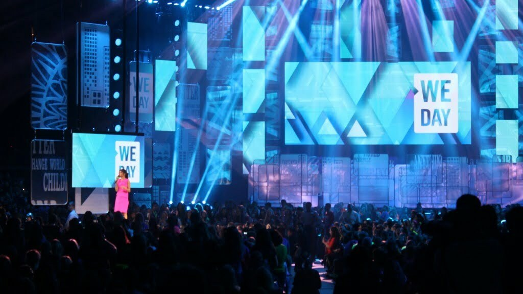 Singer Selena Gomez hosts We Day at Rogers Arena