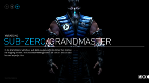Sub Zero (C/O NetherRealm Studios)