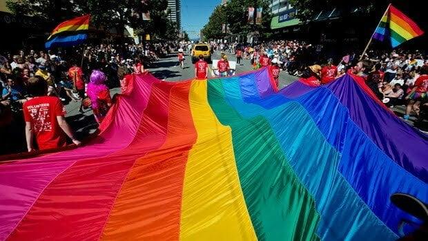 3. Vancouver pride flag