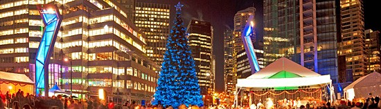 Vancouver Tree Lighting