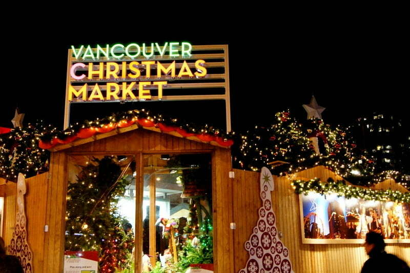 Good eats at the vancouver christmas market link magazine for Michaels crafts pittsford plaza