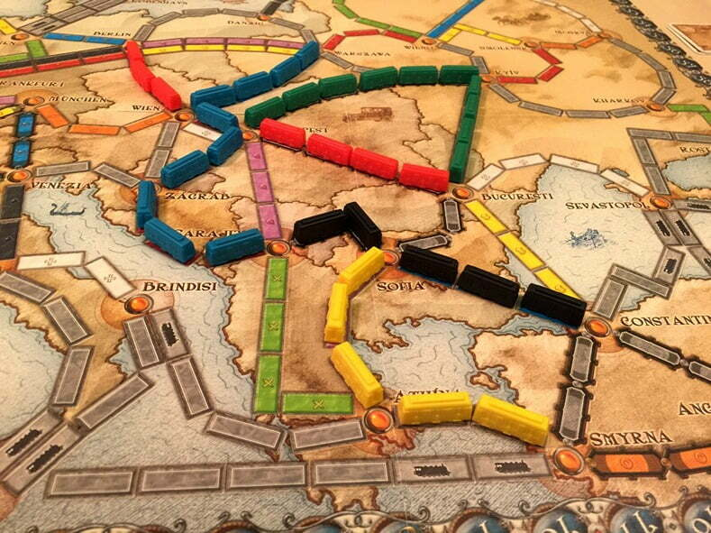 All A Board Ticket To Ride Europe Link Magazine