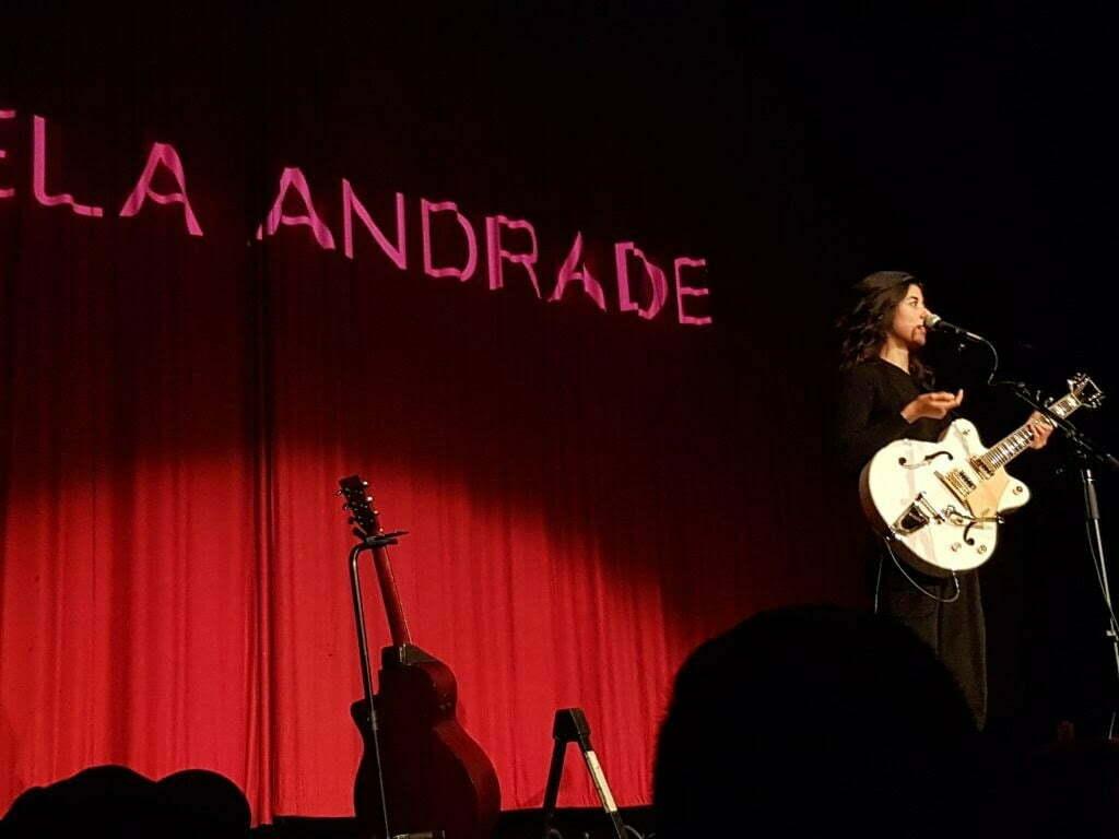 daniela on stage