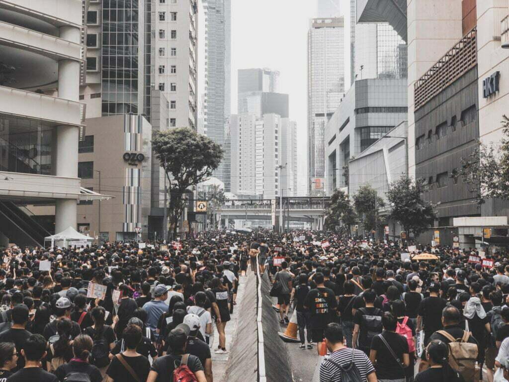 Hong Kong Protests by Han Min